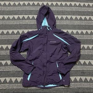 Columbia Purple Rain-jacket
